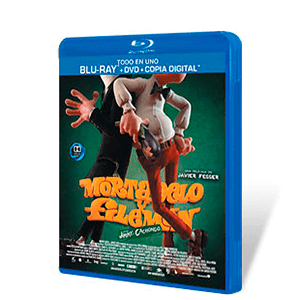 Mortadelo y Filemón contra Jimmy el Cachondo Bluray + DVD + Copia Digital