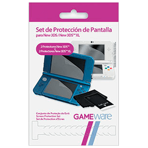 Set Protección Pantalla New3DS/XL GAMEware