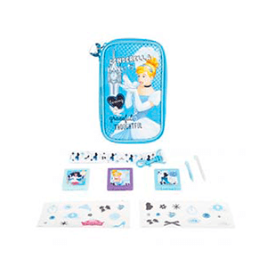 Kit 8 Acccesorios 3DS/3DSXL Cenicienta