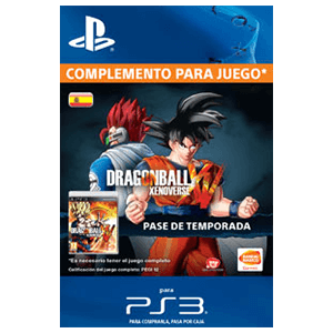 Dragon Ball Xenoverse Season Pass (PS3)