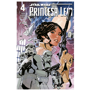 Comic Star Wars: Leia nº 4
