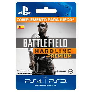 x Battlefield Hardline Premium (PS3/PS4)