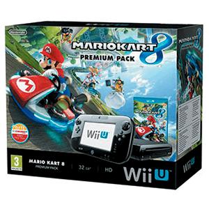 WiiU 32Gb Negra + Mario Kart 8 Preinstalado