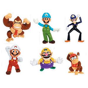 Mini Figura Articulada Super Mario 6 cm