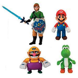 Mini Figura Articulada Super Mario 10 cm