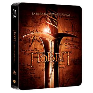 El Hobbit: Trilogía Jumbo Steelbook Bluray 6 discos