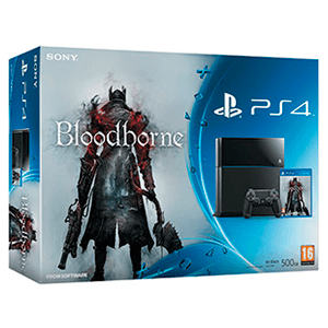 Playstation 4 500Gb + Bloodborne