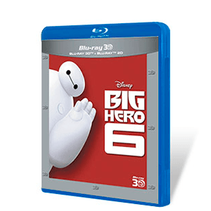 Big Hero 6 Bluray + Bluray 3D