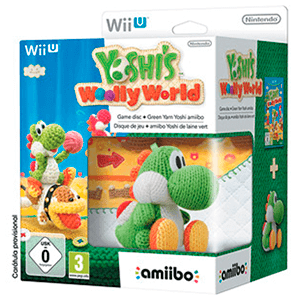 Yoshi's Woolly World + Amiibo Yoshi Lana Verde