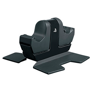 Cargador 2 mandos con AC 4Gamers -Licencia oficial Sony-