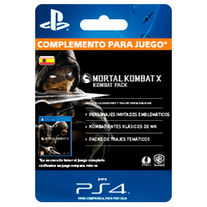 Mortal Kombat X (Kombat Pack) (PS4)