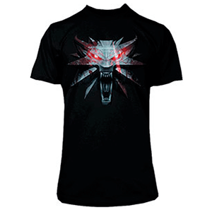 Camiseta The Witcher: The White Wolf Talla S
