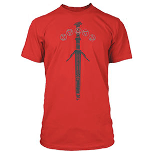 Camiseta The Witcher: Silver Sword Talla L