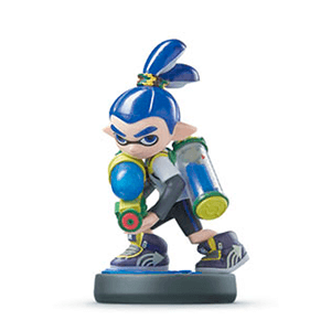 Figura Amiibo Splatoon Chico