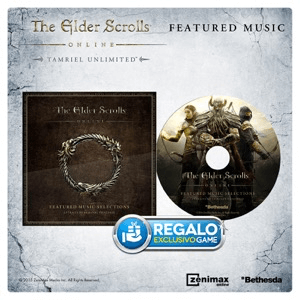 The Elder Scrolls Online : Tamriel Unlimited CD música marrón
