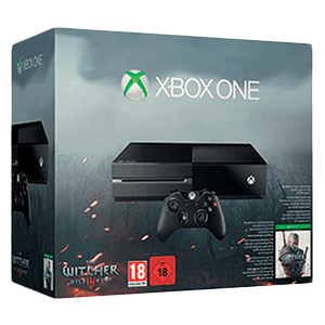 Xbox One 500Gb + The Witcher 3 Wild Hunt