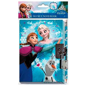 Diario Secreto + Lapiz Frozen