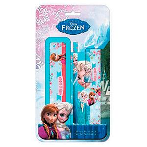 Set de 6 Piezas de Papelería Frozen