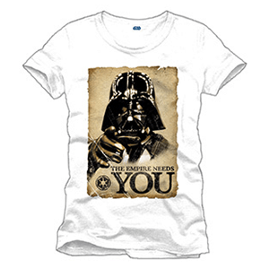 Camiseta Star Wars: Empire Needs You Talla S
