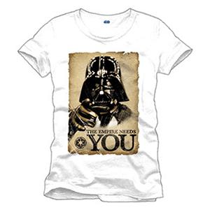 Camiseta Star Wars: Empire Needs You Talla L