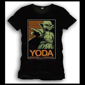 Camiseta Star Wars: Yoda Talla L