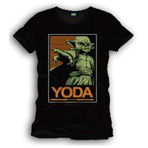 Camiseta Star Wars: Yoda Talla XL