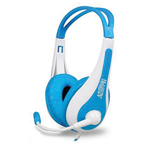 Blue Stereo Gaming Headset Official Sony 4 gamer