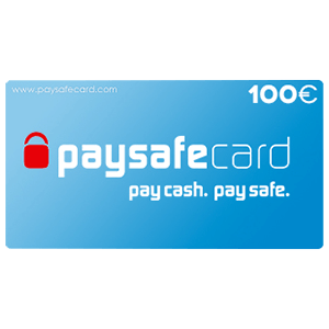 Pin PaySafeCard 100 Euros