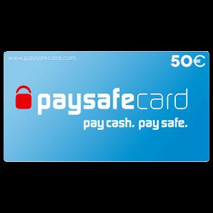 Pin PaySafeCard 50 Euros