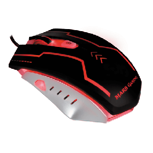 Mars Gaming MM2 5000 DPI Multicolor