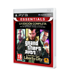 Grand Theft Auto IV Edición Completa Essentials