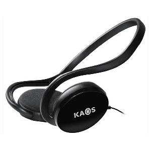 Auriculares Estéreo + Chat Kaos