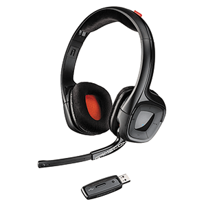 Auriculares Plantronics Gamecom 818 Wireless