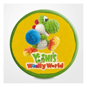 Chapa gigante Yoshi's Woolly World