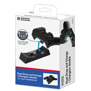Cargador Dual Mandos con AC Hori -Licencia Oficial Sony-