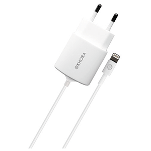 Adaptador Corriente Blanco para iPhone 5-6 Khora