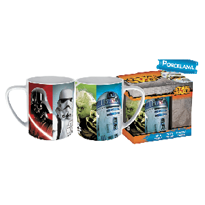 Taza de Porcelana Star Wars 325 ml.
