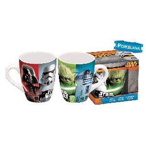 Taza de Porcelana Star Wars 335 ml.