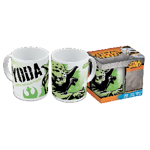 Taza Star Wars Yoda 325 ml.