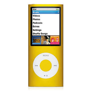 iPod Nano 4ª Gen 8Gb (Amarillo)