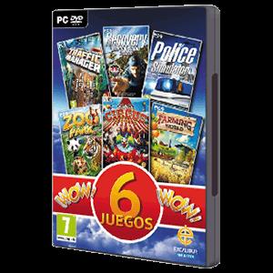 Colección 6 Juegos Wow!