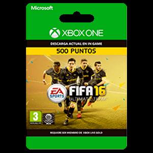 x FIFA 16 500 FIFA Points XONE