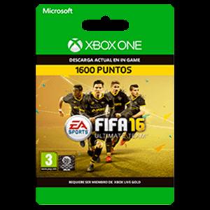x FIFA 16 1600 FIFA Points XONE