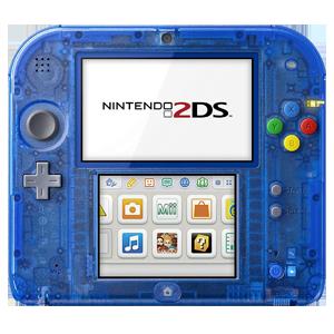 Nintendo 2DS Trasparente Azul
