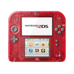 Nintendo 2DS Trasparente Roja
