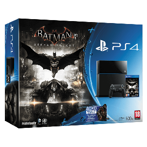 Playstation 4 500Gb + Batman Arkham Knight