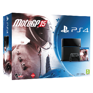 Playstation 4 500Gb + MotoGP 15