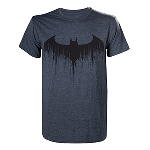 Camiseta Batman Arkham Knight: Dripping Bat Talla XL