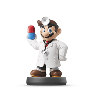 Figura Amiibo Smash Dr. Mario