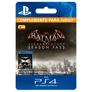 Batman Arkham Knight Pase de Temporada (PS4)